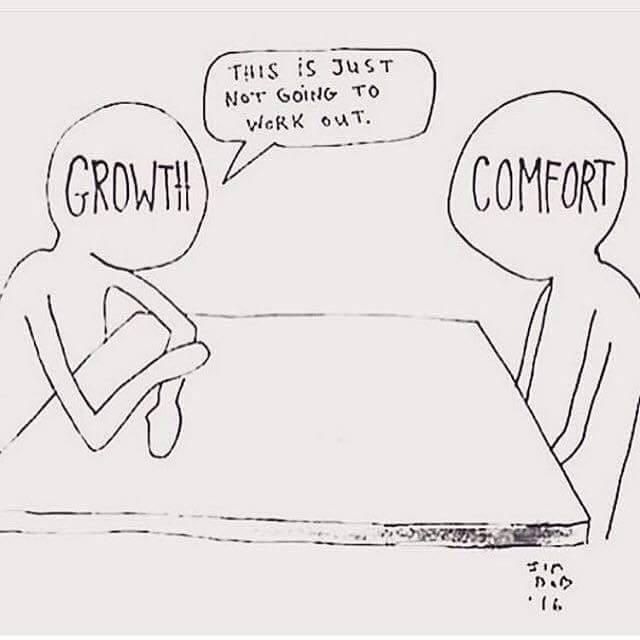 comfort v growth