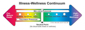 Jack Travis' Wellness Continuum
